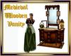 Medieval Wooden Vanity