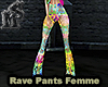 Rave Rainbow Pants Femme