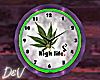 !D Weed Clock