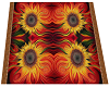 Batik rug - Sunflowers