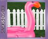 MOMMY Flamingo Float