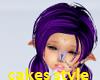 purple an black hair