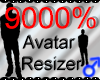 *M* Avatar Scaler 9000%