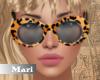 !M! Leopard Sunglasses