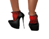 Black Heels Red Socks