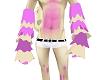 PinkBubbleGumArmWarmers