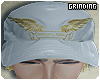 Robin Hat x white