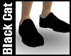 Plain Matt Black Shoes