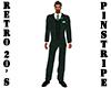 Retro 20's Green Suit