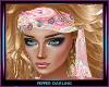 Pink Gypsy Head Scarf