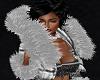 FG~ Silver Fur Jacket