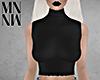 Sleeveless Knit Black