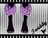Masie Lilac Claw Paws