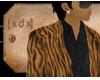 [XDX] Tiger Suit Top