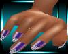 LTR Purp Gem Nails *Lush