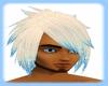 {D}blonde and blu hair