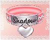 Shadow's Collar Pink