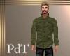 PdT DkKhaki Linen ShirtM
