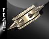 [P]SSQ Spiked Bracel
