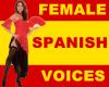Spanish Female Sound Box
