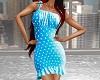 Blue Polka Dot Sun Dress