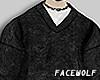。black sweater