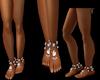 diamon goddess anklets