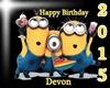 Devon Birthday Cake