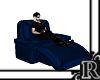 [R] blur cozy recliner