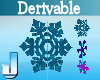 Hang Snow Crystals DRV