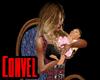 Rocking baby girl