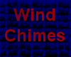 Wind chimes with chimes