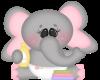 Kids Pink Zoo Elephant