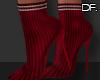 Df. Booties Sock Red
