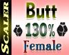 Butt / Hip Resizer 130%