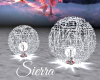 ;) Sparkly Balls Silver