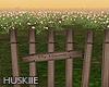 HK`Wooden fence#2