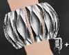 D+. Silver Bracelet