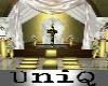 UniQ Wedding Church Gold