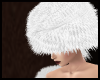 White Furry Hat