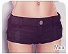 Mun | Scarblack shorts '