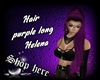 Hair Purple Helena