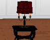 (A) Red Lamp Table