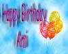 Happy Birthday Ami Sign