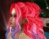 martina redblu hair