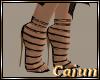 Gilded Black Heel