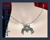 [LH]Bat Necklace