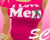 [SC] Pink~ I Love Me Tee