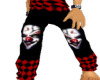 Evil clown sweats
