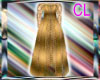 Curvacious Gold gown